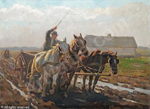 VISKI János (Jean - Vágtató lovasszekér