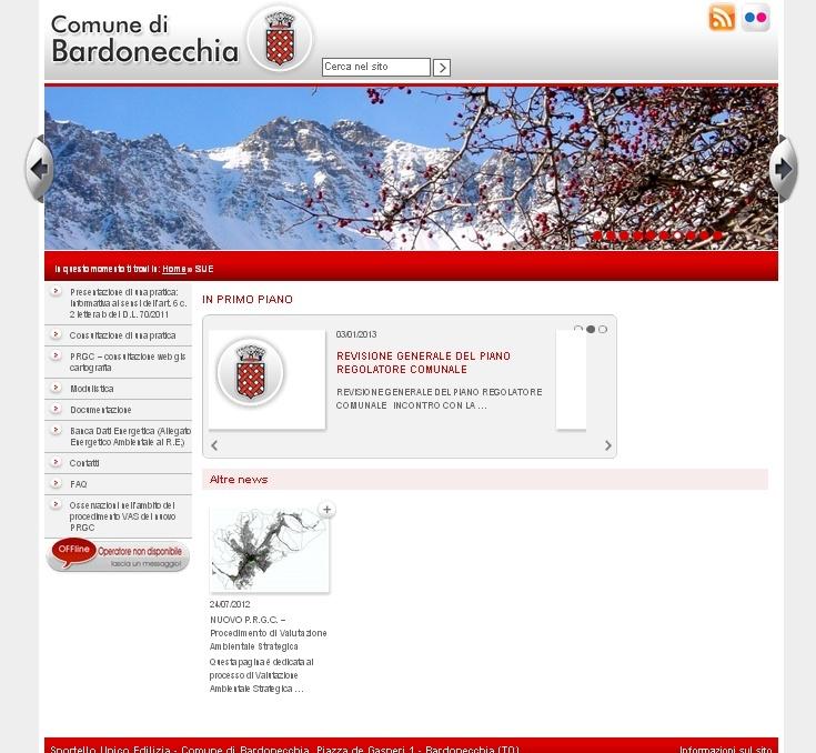 Bardonecchia, SUE  http://www.nethics.it/clienti_web.asp