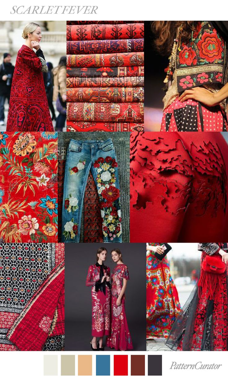 SCARLET FEVER by PatternCurator