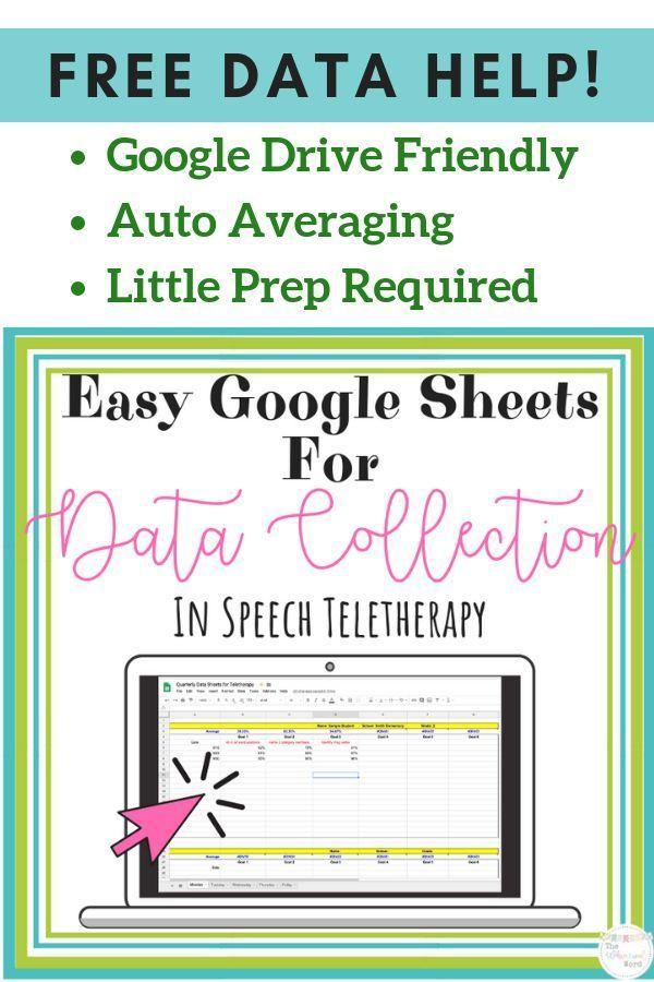 Speech Data Collection Google Sheets