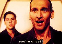 Doctor Who Official on Tumblr - I miss the Ninth Doctor… - I miss the Ninth Doctor...