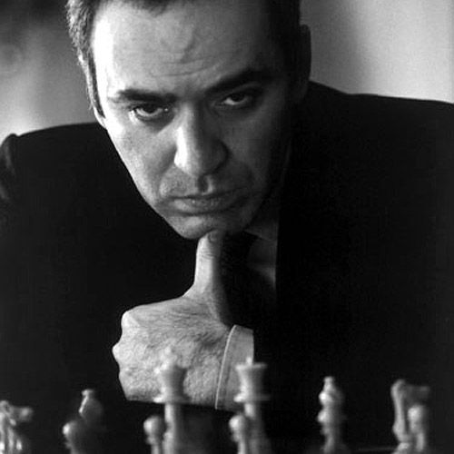 Russian chess grandmaster, World Chess Champion (1985-93), writer and political activist Garry Kasparov. The youngest ever undisputed World Chess Champion (at age 22)