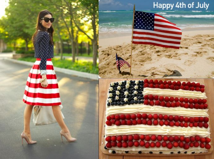 HappyIndependence Day! How are you celebrating theFourth of July? Share your style/bbq/pool/beach party plans withDaily by Morin!    Learn more about the national holiday here:http://en.wikipedia.org/wiki/Independence_Day_(United_States)