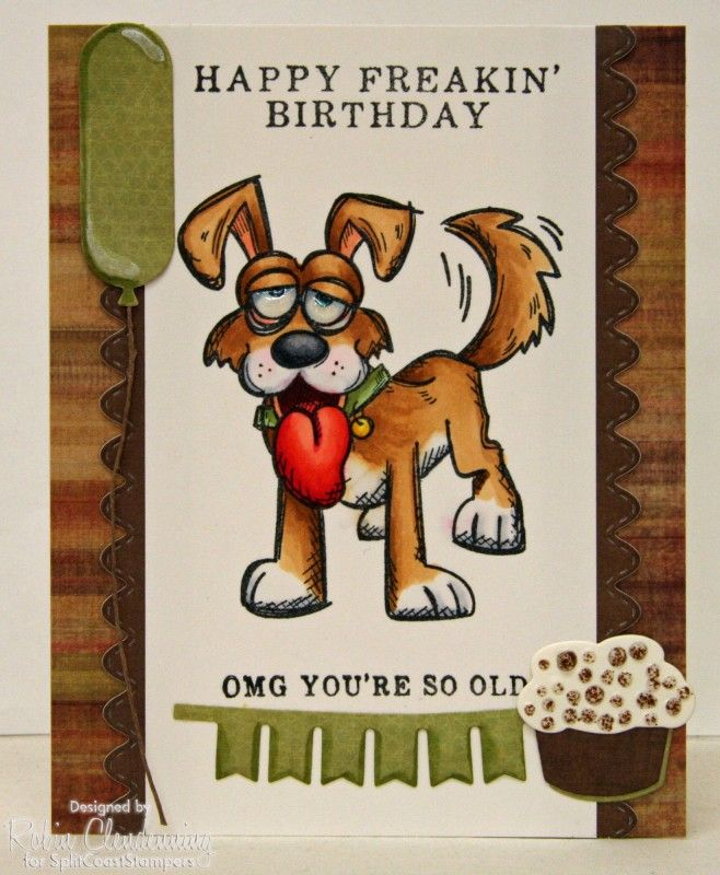 SC WT Birthday by Stamperrobin - Cards and Paper Crafts at Splitcoaststampers