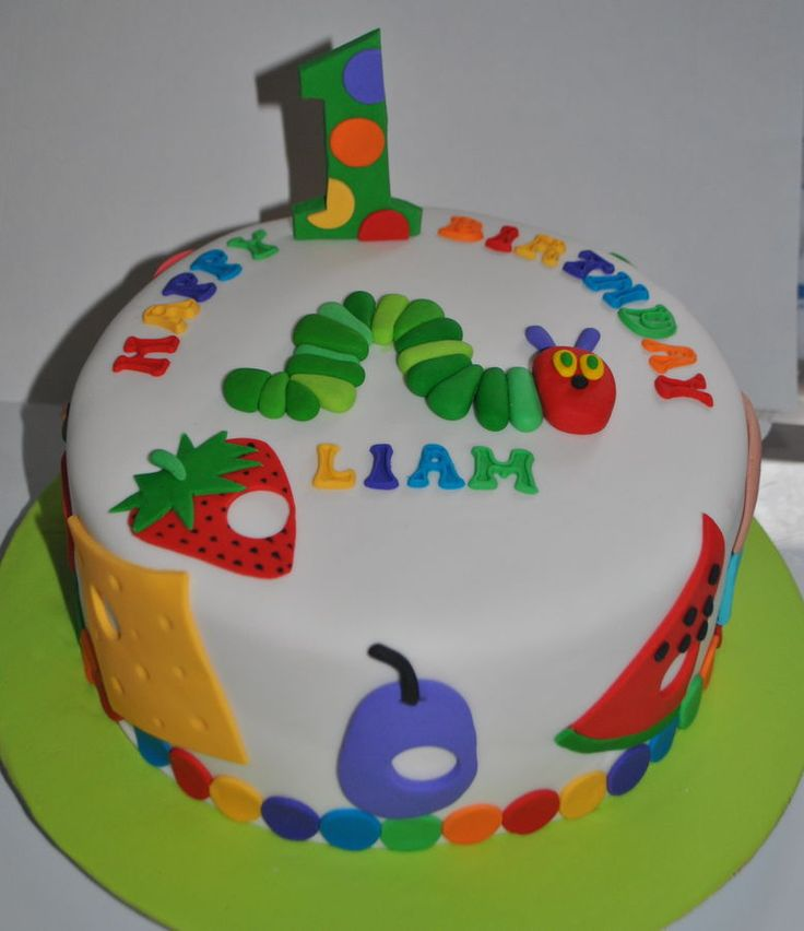 hungry caterpillar cakes | In: The very hungry caterpillar in album: Childrens Birthday Cakes