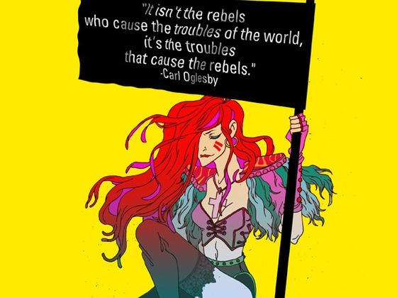 Occupy Comics: Art + Stories Inspired by Occupy Wall Street by Matt Pizzolo, via Kickstarter.