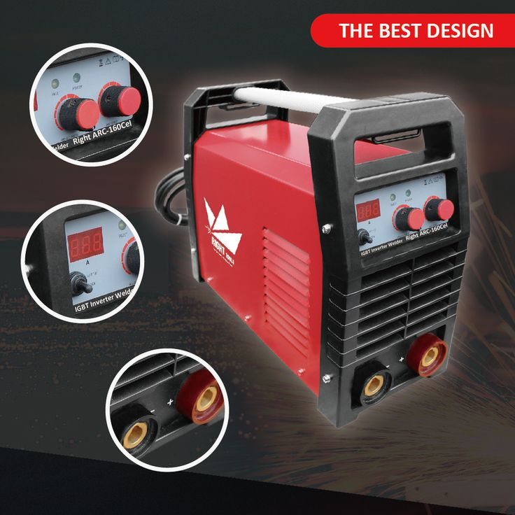European design 160a arc micro welding machine for Cellulose electrode