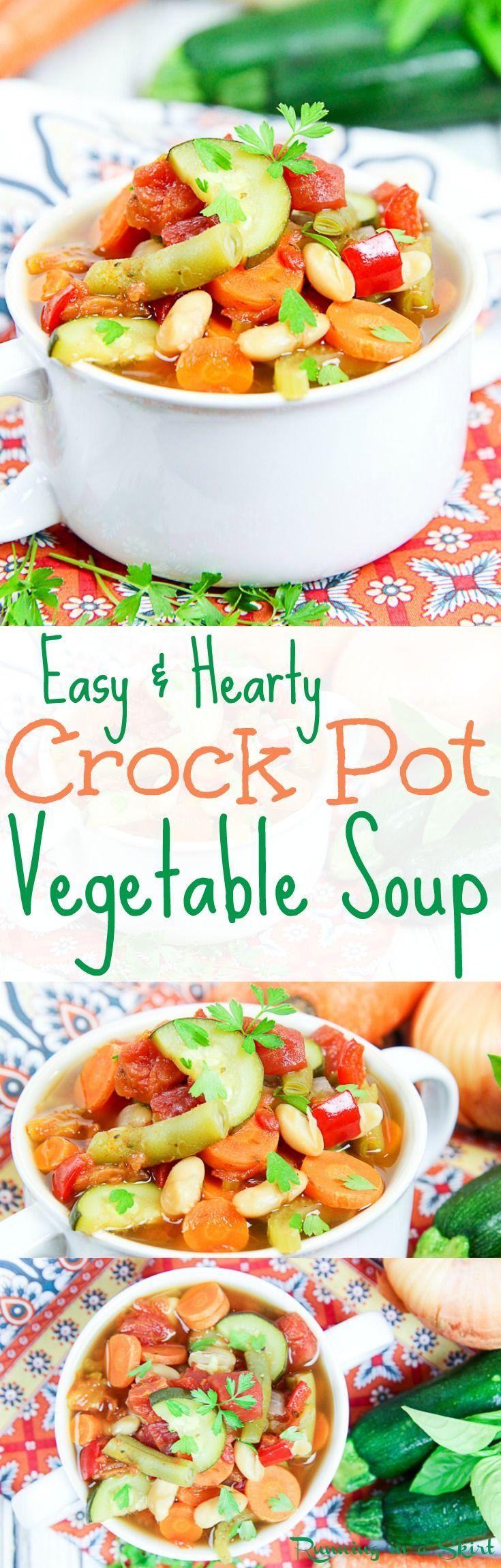 recipe: low carb vegetarian vegetable soup recipe [39]