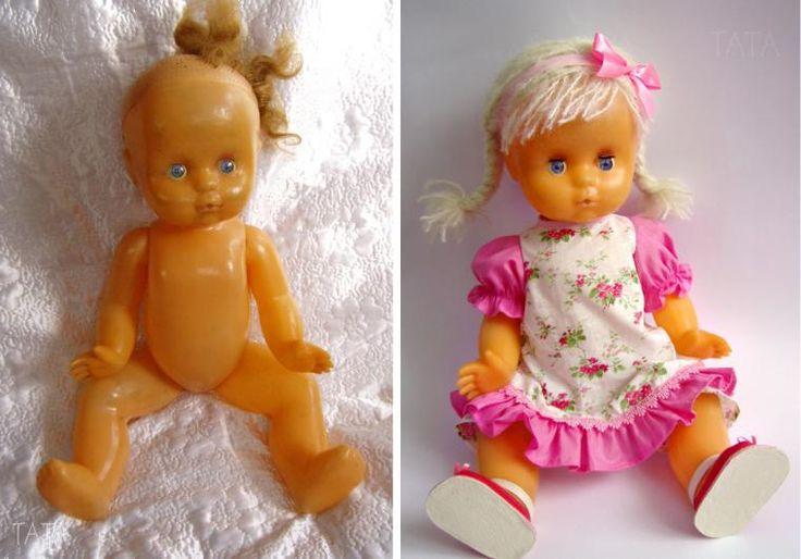«Из страшила в красавицу» — новая жизнь старой куклы - Ярмарка Мастеров - ручная работа, handmade