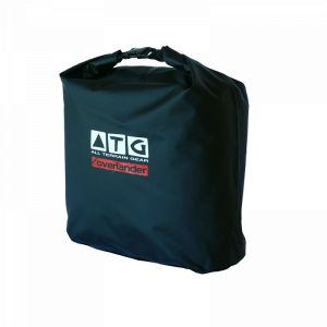 ATG pannier and utility bags.  We have improved the normal pannier liners and now offer the most versatile pannier bags and they are also 100% waterproof, dust-proof, storm-proof, sand-proof and mud-proof. The bags come standard with the carry harness and shoulder straps. Used with hard panniers or soft panniers. As a sling bag when fishing or as a everyday carry gym bag, you can use these for any type of activity.