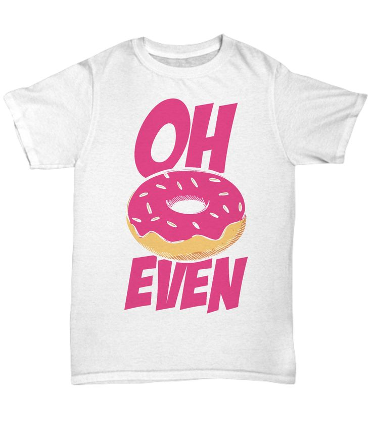 Calling all donut and food pun lovers! Design features one yummy strawberry donut.