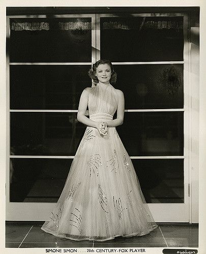 Simone Simon - Photo by George Hurrell