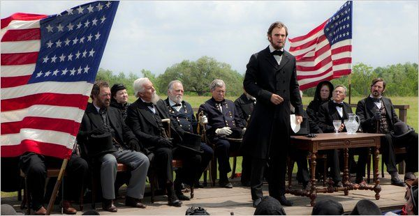 Making Abraham Lincoln: Vampire Hunter into a movie.  My fav book of the year!