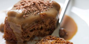 English Sticky Toffee Pudding. My brother makes this, its amazing!