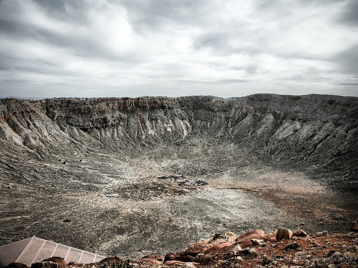 Deep Impact - Meteor Crater, Arizona, USA. Wow is all I can say.