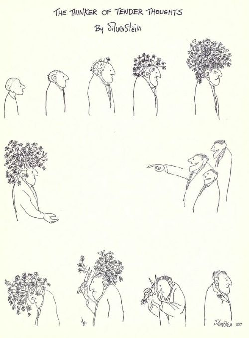 the thinker of tender thoughts//