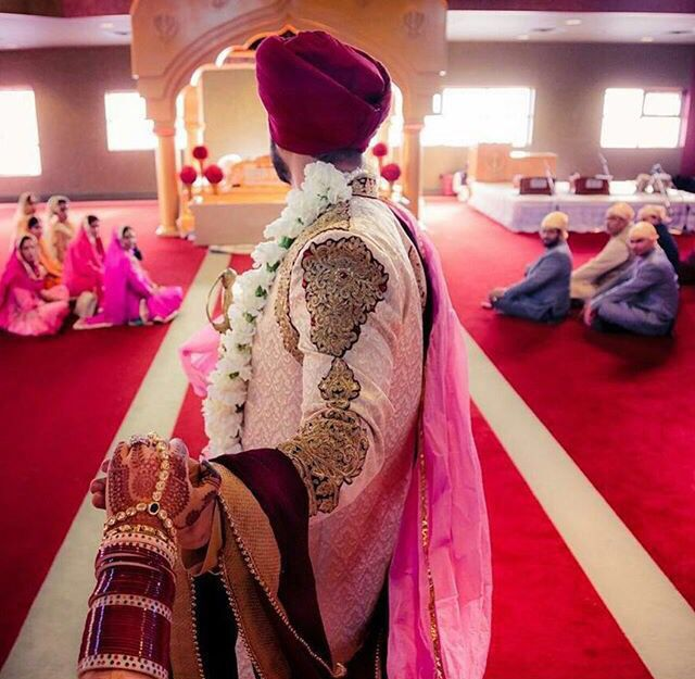 A Must Followmeto Sikh Wedding Photoshoot