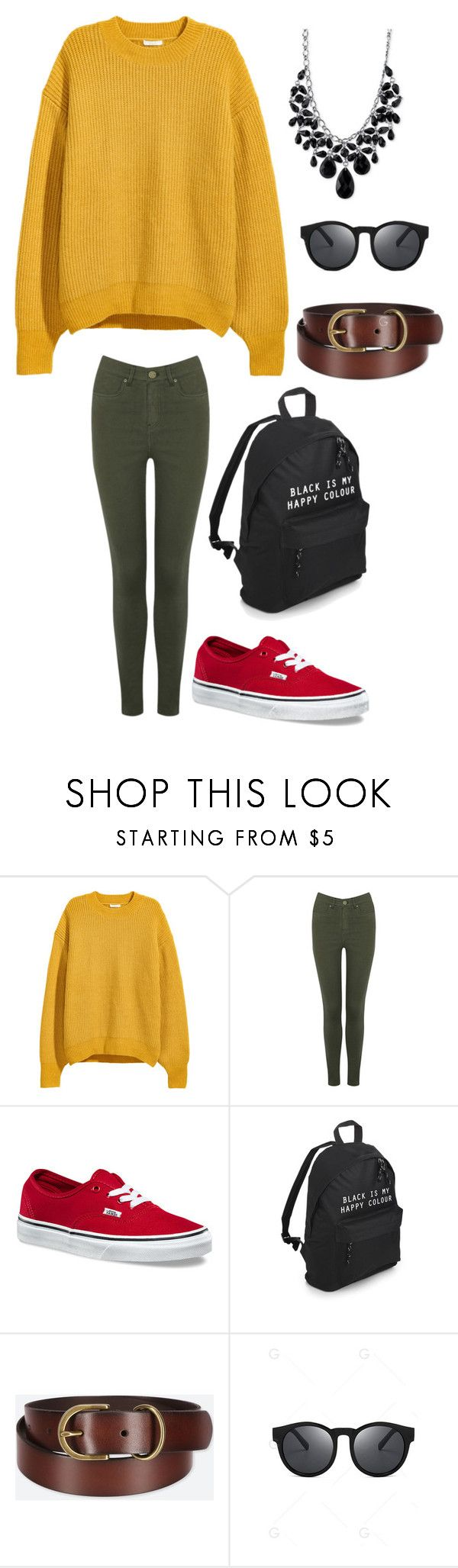 """""""Untitled #4366"""" by kaitoven on Polyvore featuring Oasis, Vans, Uniqlo and 2028"""