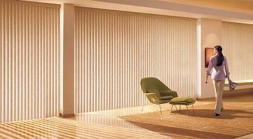 Hunter Douglas Somner® Custom Vertical Blinds - contemporary - vertical blinds - other metro - Accent Window Fashions LLC