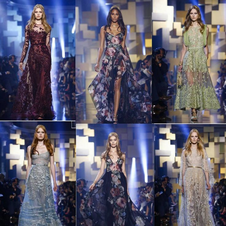 Paris Haute Couture Week Beauties.. Day 4 @eliesaabworld cont.. #pfw