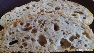 Betty hobbi konyhája: Sokmagvas kovászos tönkölykenyér