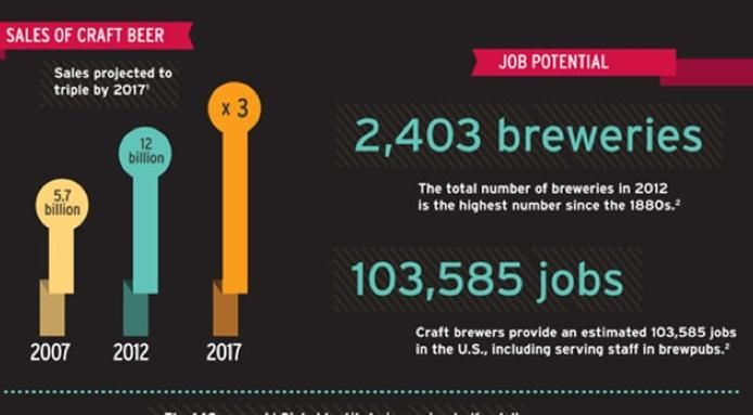 122 best everything about beers images on pinterest beer for Craft beer industry statistics