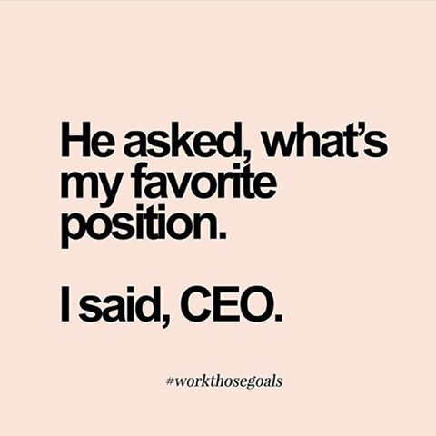 Have a great day #girlboss ✌