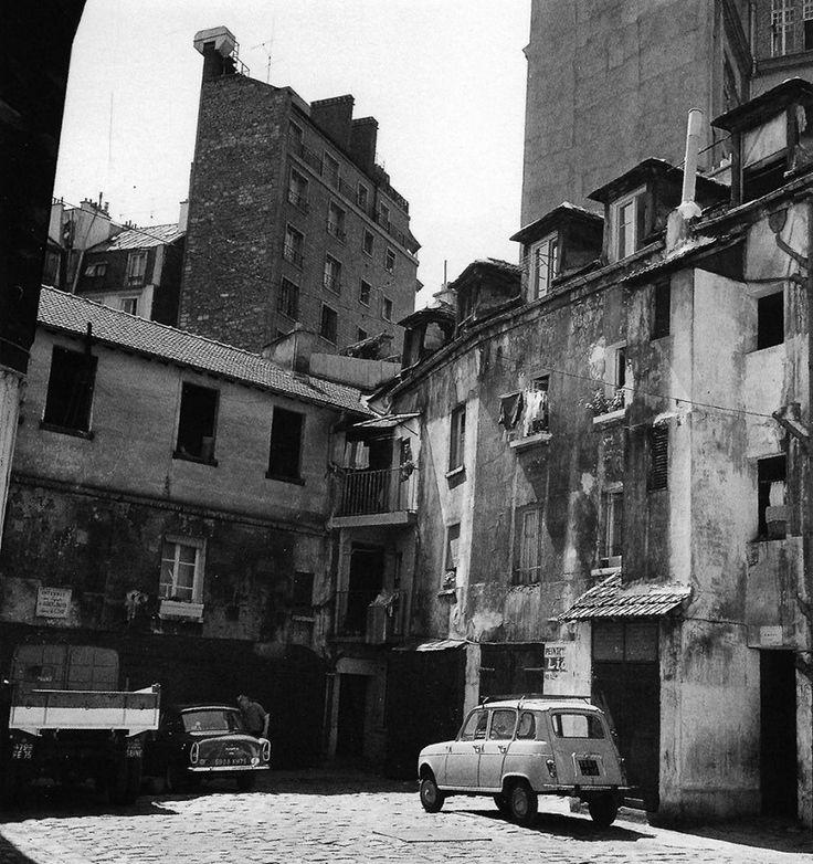 Robert Doisneau - Rue Broca dans le quartier du Val-de-Grâce, París 1964