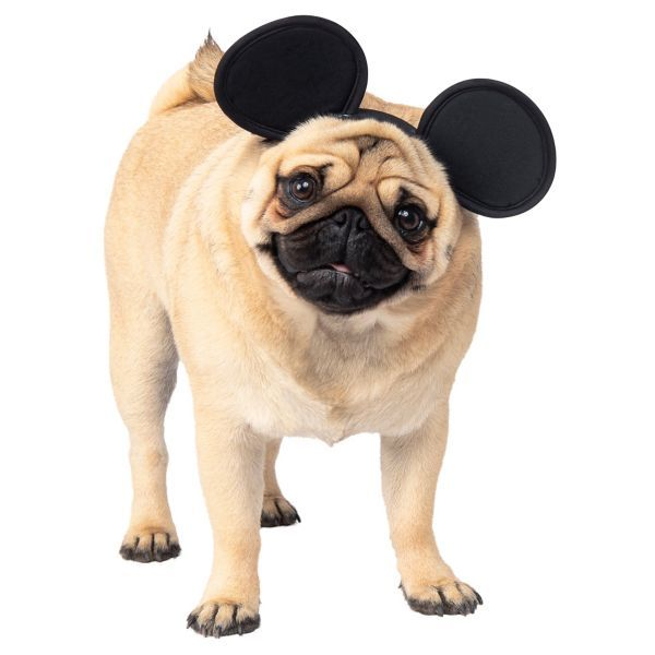 Mickey Mouse Dog Headpiece Size M L Pet Costumes Mickey