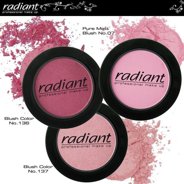 Blush Color | Radiant Professional Make Up Ρομαντική ή παιχνιδιάρικη, αθώα ή σέξι … το κατάλληλο ρουζ μπορεί να μεταμορφώσει το πρόσωπο σου και να σου αλλάξει στυλ! #Radiant #Professional #blush #makeup