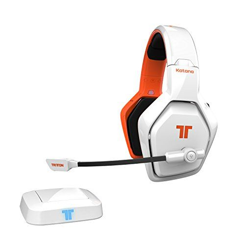 FarCry 5 Gamer  #Mad #Catz #TRITTON #Katana #HD 7.1 #Wireless #Headset for #Gaming #Consoles (PS4 #Slim Compatible), #PC, #Smart #Devices & #HDMI #Audio #Sources - #White   Price:     #Katana #HD packs the best possible sound available for #wireless headphones. Immersive DTS Headphone :X tech makes all of your #audio #sources come alive. A full eight channels of uncompressed sound waves flow thru an #HDMI base station that links this #wireless #gaming #headset to a bevy of #g