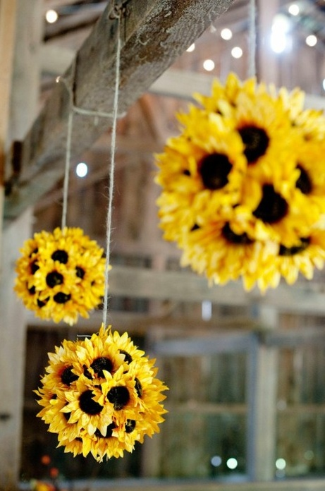 Sunflower balls!