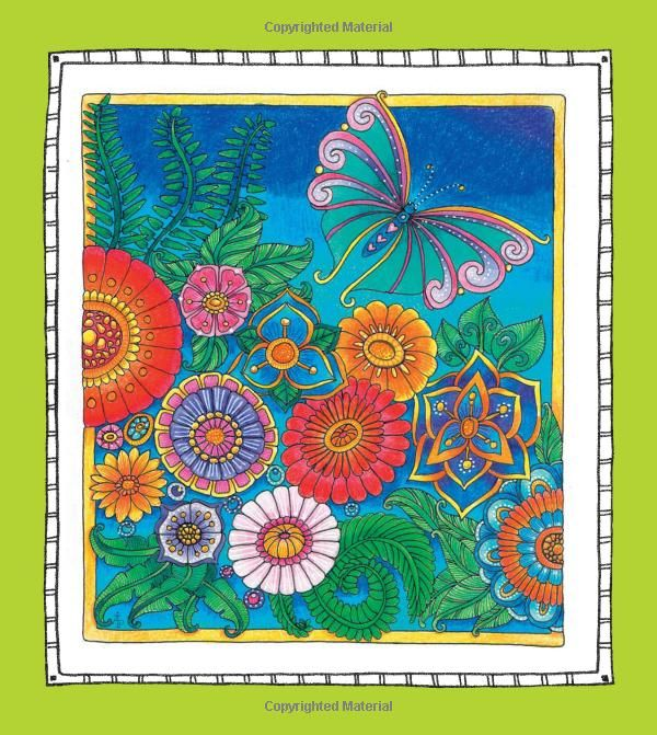 color me happy 100 coloring templates that will make you smile a zen coloring - Color Me Books