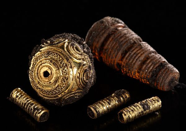 Royal Celtic Bling found in mainland Europe, dating back to 600BC.  Thought to belong to a noblewoman.