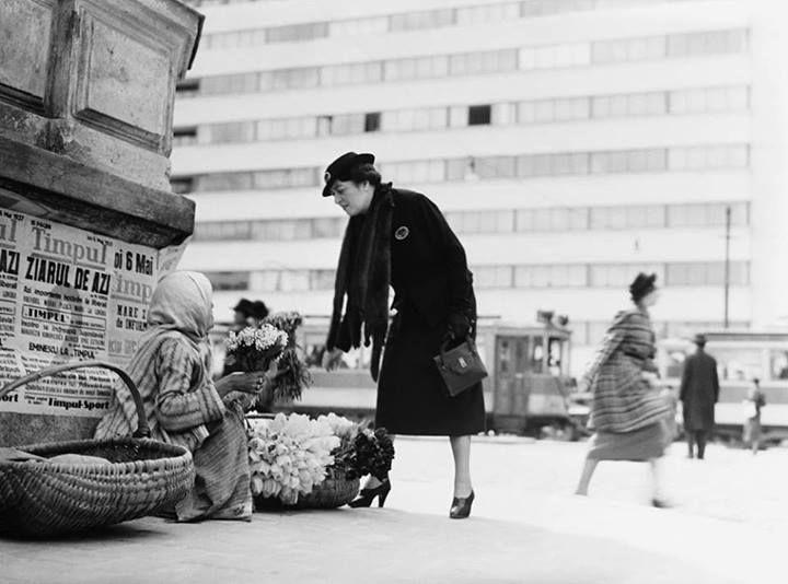 Bucureşti A venit primăvara Joi, 6 mai 1937 foto: Willy Pragher