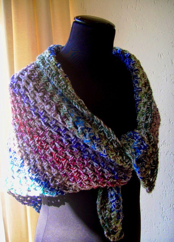 Atelier 'De Kleine Haven': Gehaakte Sjaals, sjaaltjes en omslagdoek