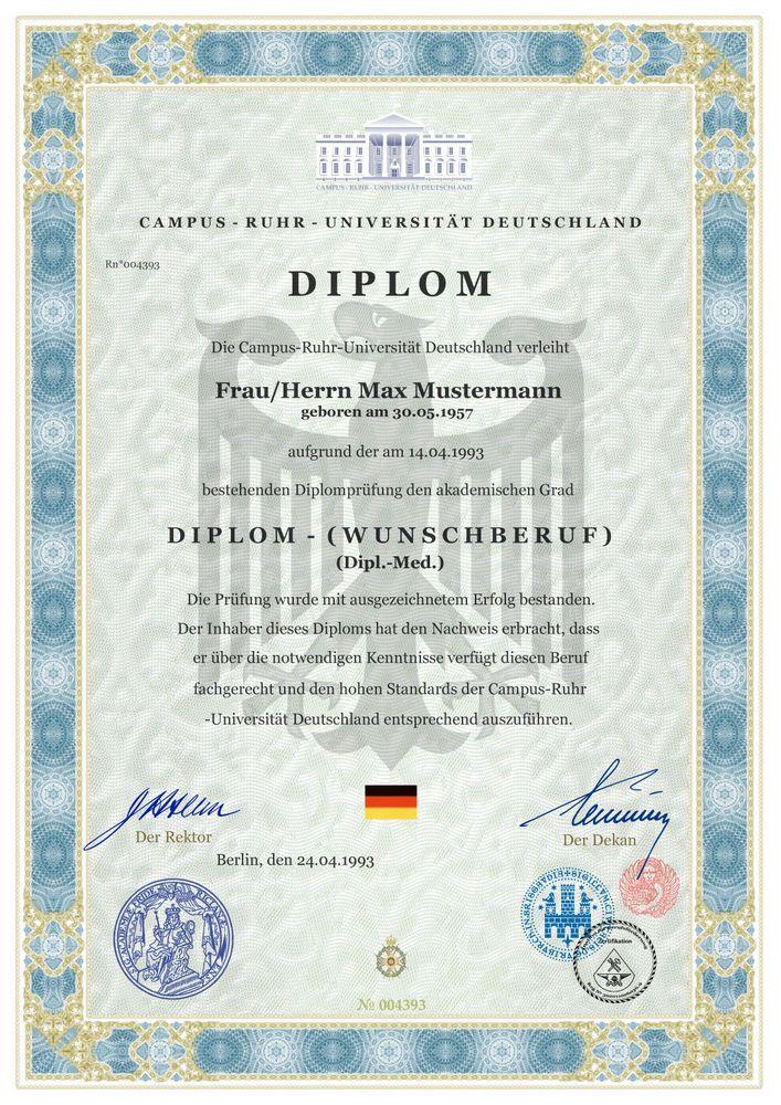 Diplom Kaufen Elektrotechnik, Urkunde Zertifikat Gesellenbrief Prüfungszeugnis ♛