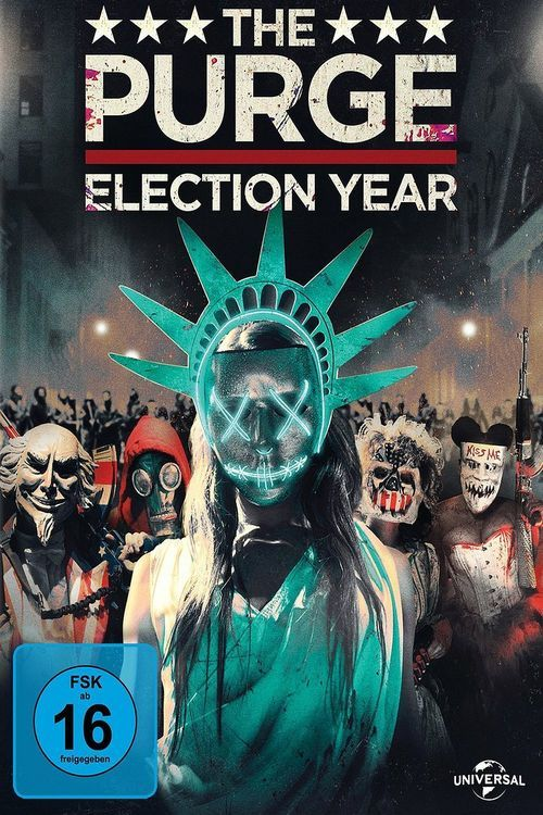 The Purge: Election Year 【 FuII • Movie • Streaming