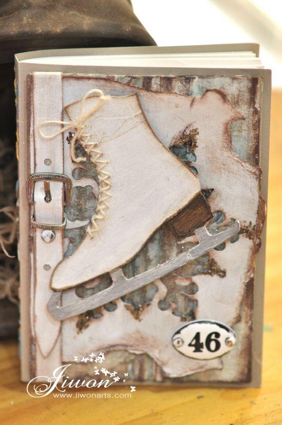 Jiwon Crafts Blog: Ice Skates Book