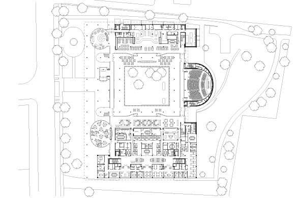 Kimmel Hall Floor Plan Kimmel Eshkolot Architects Unveils