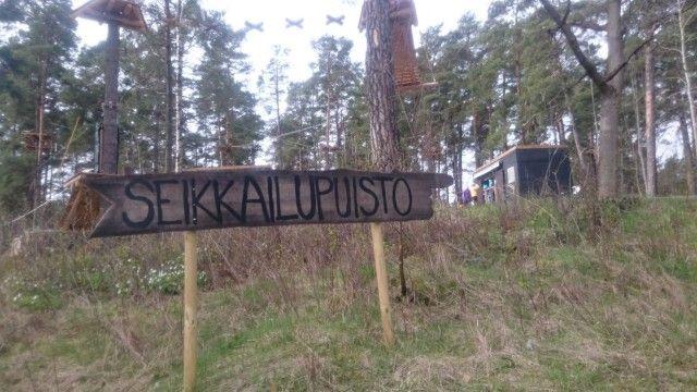 Korkee seikkailupuisto Helsinki Mustikkamaa | Ilon kautta