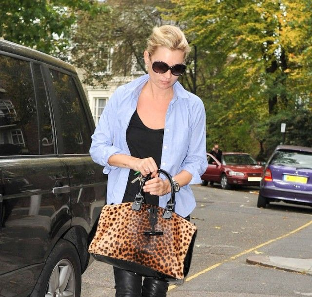 This Longchamp Panther Parade Satchel is easily my favorite of her picks from the brand