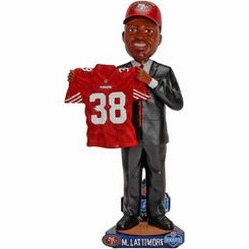 Marcus Lattimore NFL San Francisco 49ers Draft Day Bobblehead NIB Niners 2013