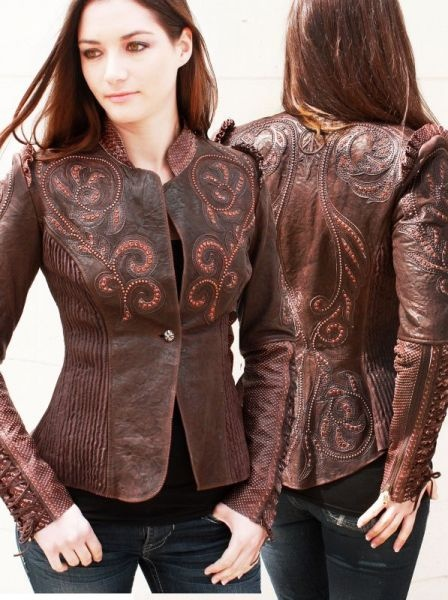 """Shop By Brand - Kippys - KIPPYS CHOCOLATE """"CLEOPATRA"""" JACKET! - DoubleDRanch