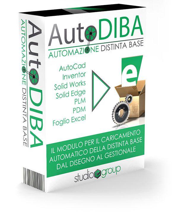 """AUTODIBA è il modulo per il caricamento automatico della distinta base dal disegno al gestionale. Disponibile in diverse configurazioni (modulo integrato nel gestionale """"e/"""", applicativo Stand Alone, modulo per PDM) permette di ridurre notevolmente tempi di caricamento ed errori. Il modulo è completamente configurabile dall'utente."""