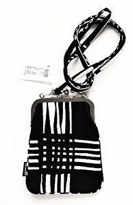 Marimekko Rimmi bag, Black/White 15x20cm | eBay