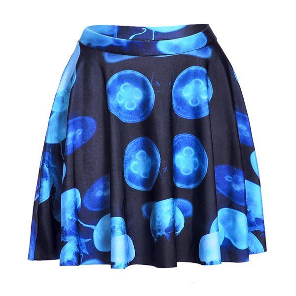 Goedkope 2015 nieuwe vrouwen voorjaar en de zomer digitaal printen blauwe geplooide rok skt1092 kwallen, koop Kwaliteit rokken rechtstreeks van Leveranciers van China: azië groottetailleheupenvóór lengtena de lengtes71(cm)96.5(cm)41(cm)45(cm)m76(cm)104(cm)42(cm)46(cm)l81(cm)111.5(cm)43(c