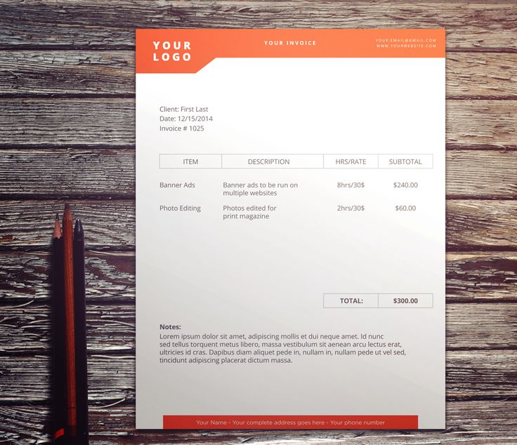 38 best invoices images on Pinterest Blog, Design packaging and - how to invoice clients