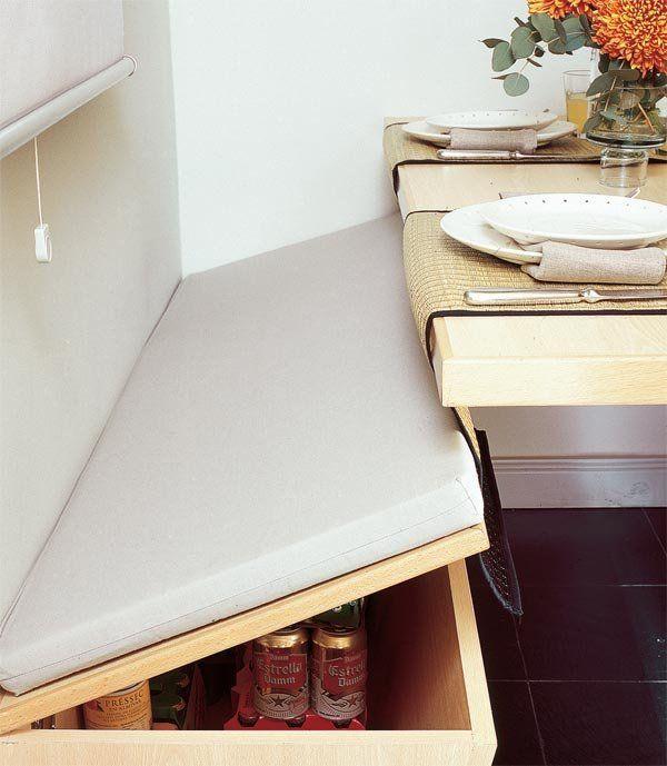 Banca para comedor buscar con google para mi casa for Medidas banco cocina