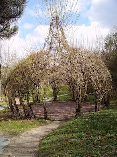 Woven Willow Garden Shade, they had a lot of time on their hands!